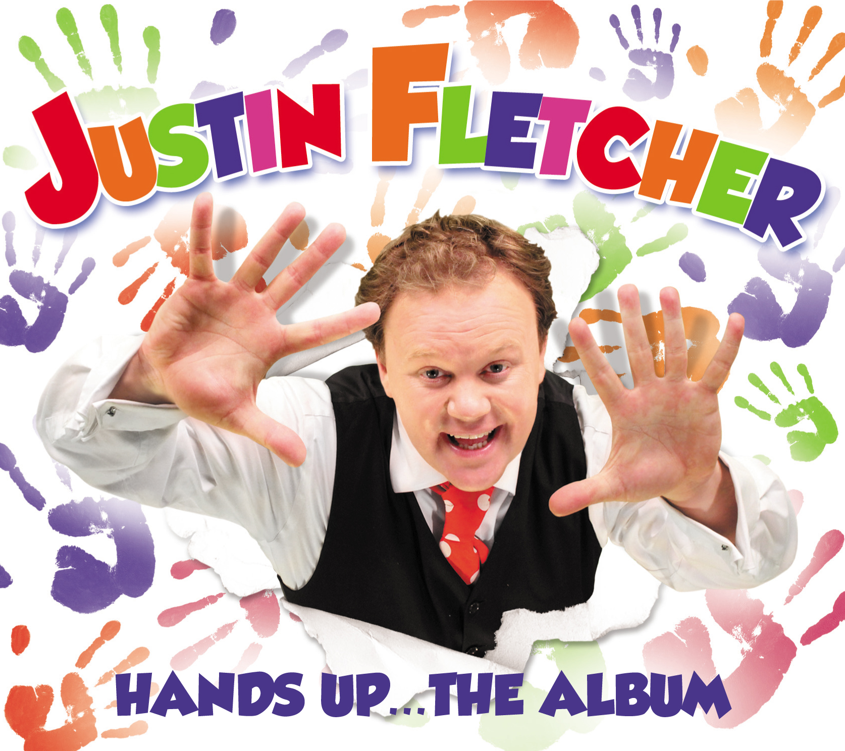 Justin Fletcher   Hands Up .... The Album