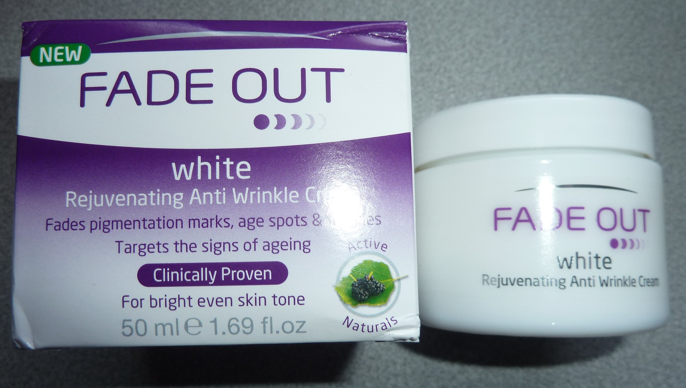 fade out whitening cream