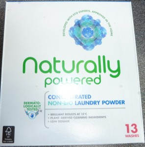Naturally Powered Washing Powder