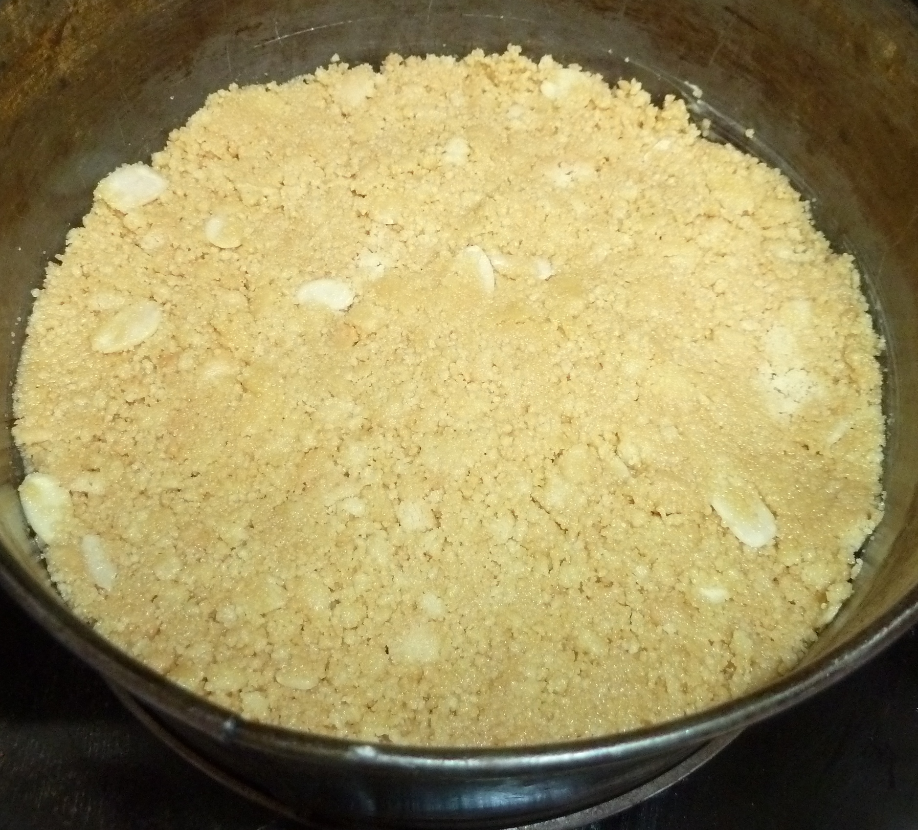 The next step was to prepare the pears to add to the cheesecake. I ...