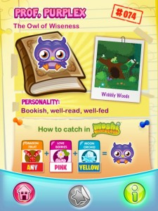 Moshi Monsters Moshling App