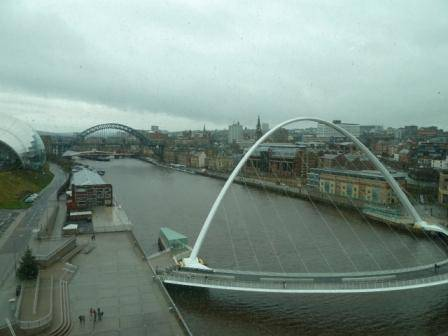 River Tyne from the Baltic