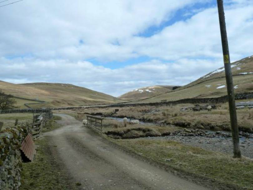 road near thomas telfords birthplace