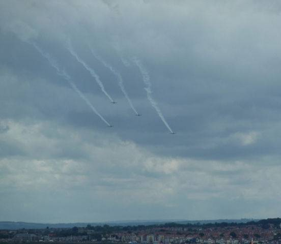 Sunderland Air Show from DFDS Seaways