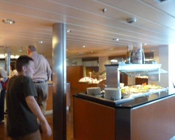 DFDS Seaways buffet