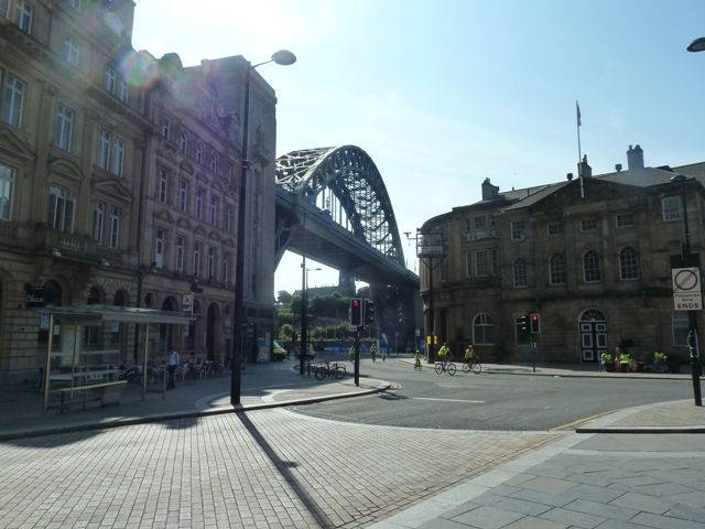 View of the tyne bridge newcastle