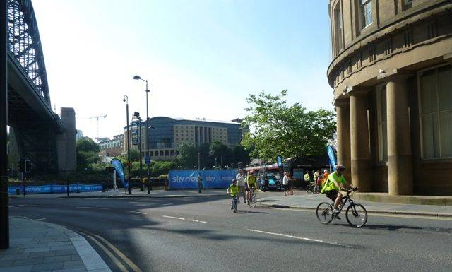 Ne2wcastle Gateshead skyride