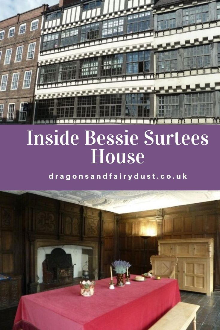 Bessie Surtees House is a Jacobean house on Newcastles quayside with a romantic history. Find out the story and see what is inside
