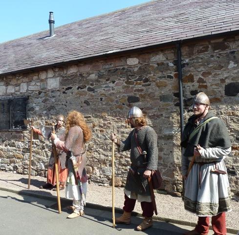 Vikings at Lindisfarne