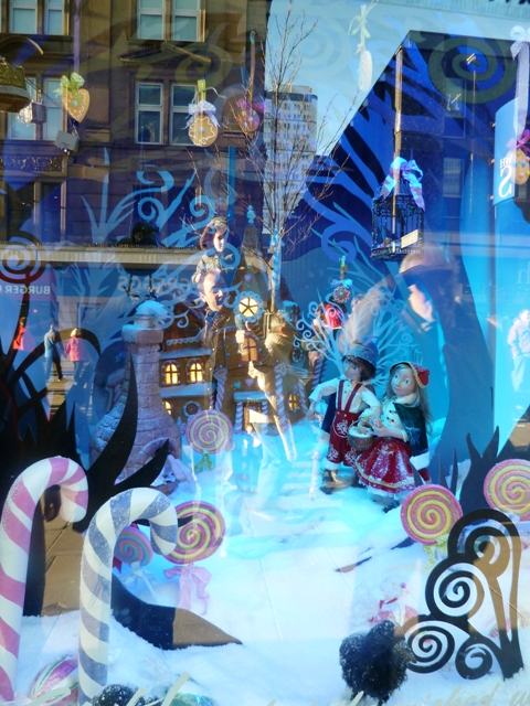 Fenwicks Christmas Windows Hansel and Gretal