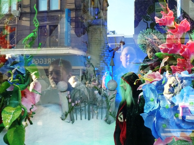 Fenwicks Christmas Windows Rapunzel