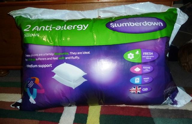 Slumberdown Anti Allergy pillows