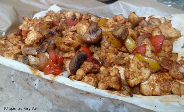 Chicken Fajita Tart