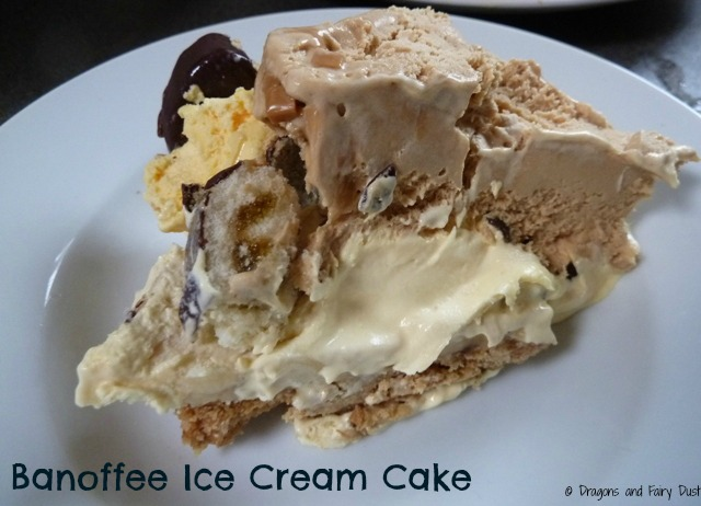 Banoffee Ice Cream Cake