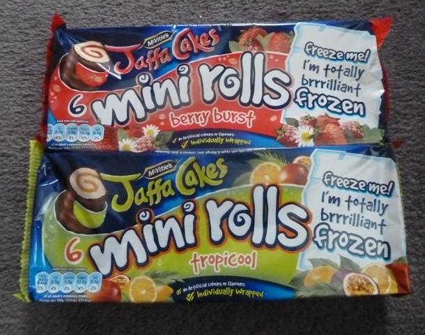 Jaffa Cake Mini Rolls