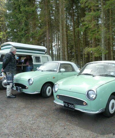 Kielder Vintage car rally