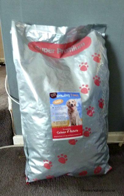 Growling Tums dog food
