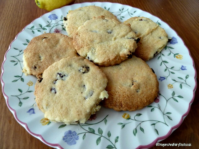 Lemon and Sultana Biscuits