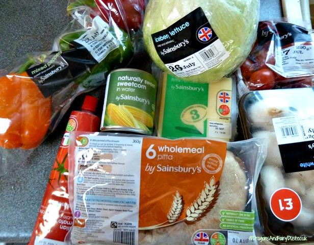 Sainsbury's ingredients
