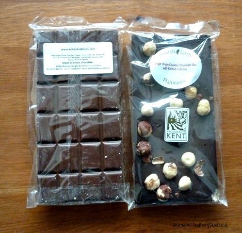 Potash Farm cobnut chocolate