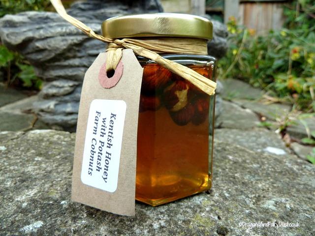 Potash Farm Honey with cobnuts