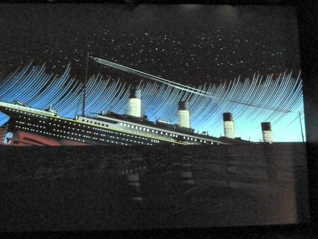 Titanic exhbit