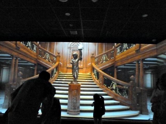 Titanic stairway