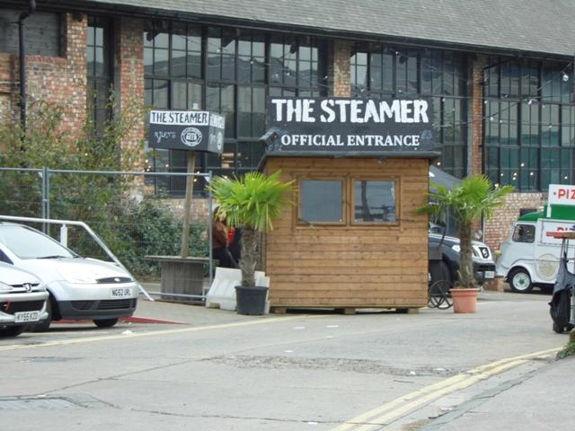 Boiler shop steamer