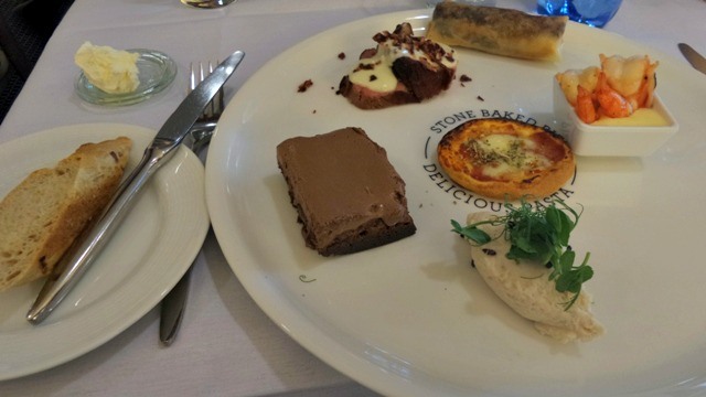 DFDS seaways lunch