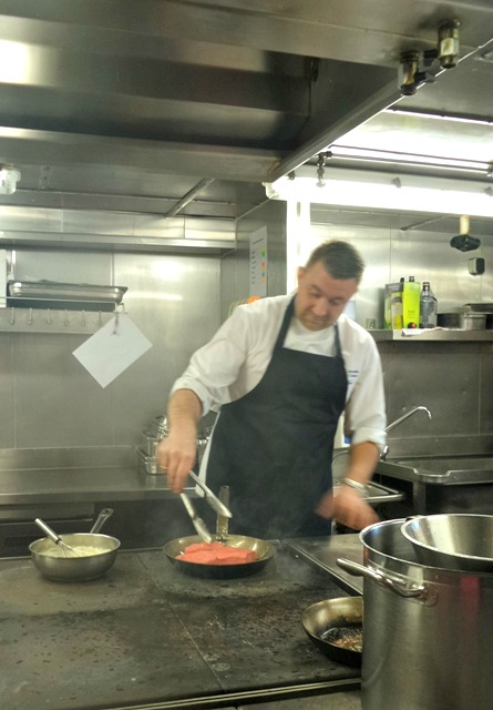 Head chef aboard DFDS seaways