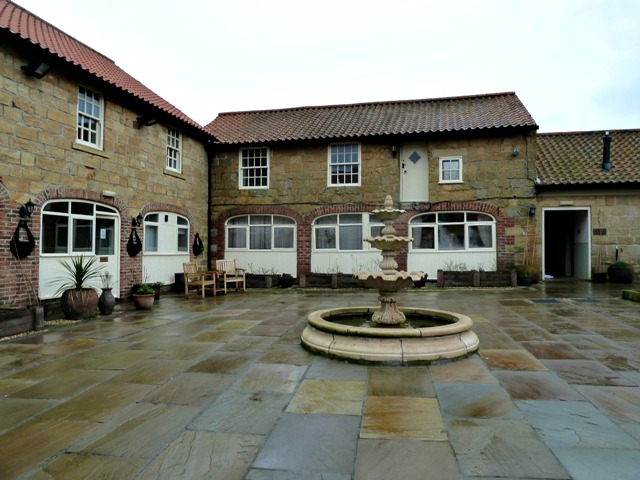 ox pasture hall courtyard
