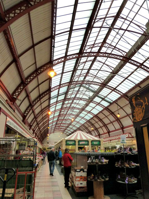 Grainger market roof