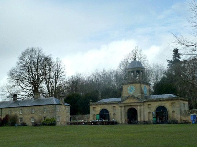 Wallington hall clocktower