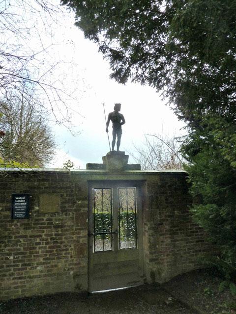 Wallington hall walled garden