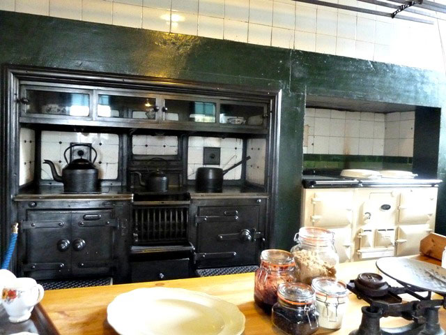 Wallington hall kitchen