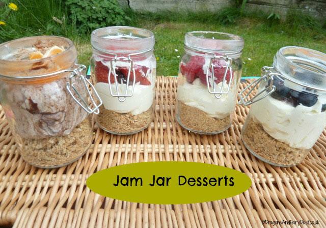 Jam Jar Desserts
