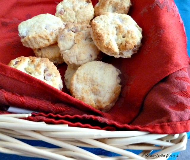 Pancetta and parmesan scones