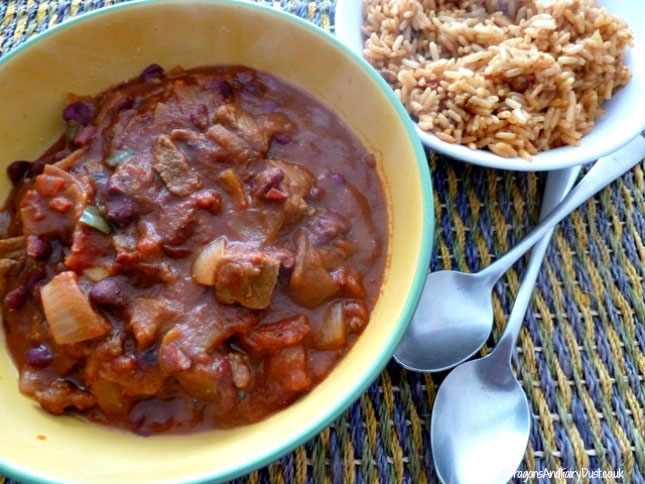 Meican chilli beef
