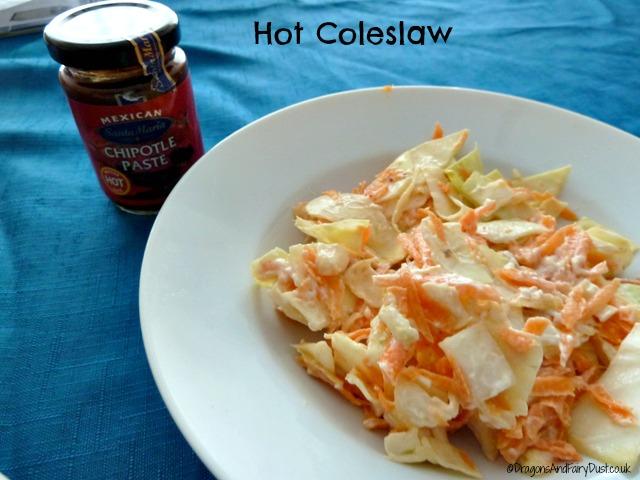 Hot coleslaw