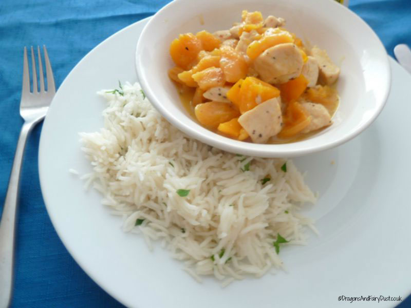 chicken and apricots