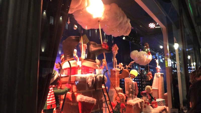 FFenwicks Christmas windows