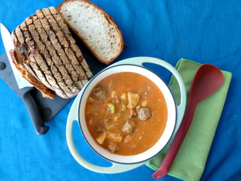 Maltese pork and sausage stew