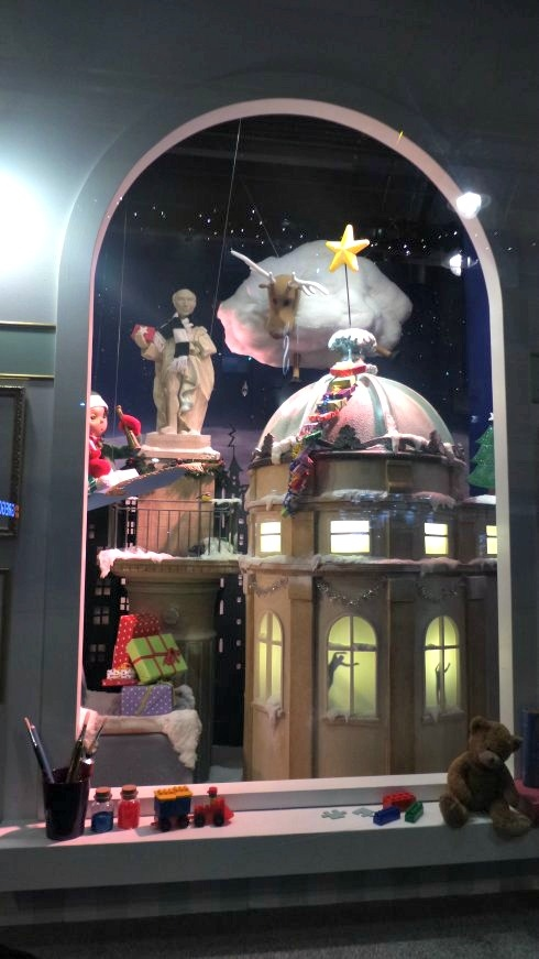 FFenwicks Christmas windows
