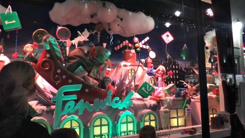 FFFenwicks Christmas windows