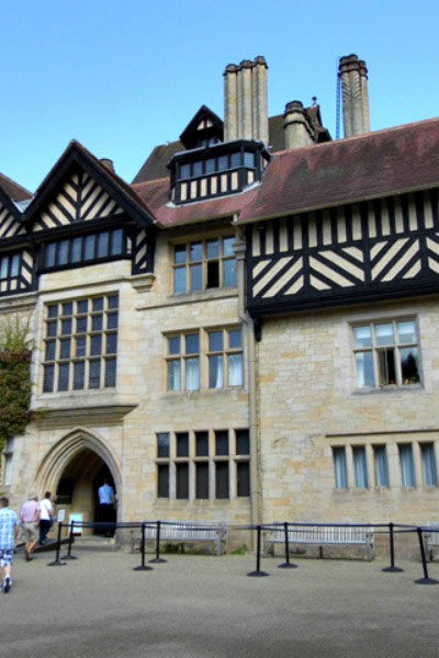 Cragside house from the outside