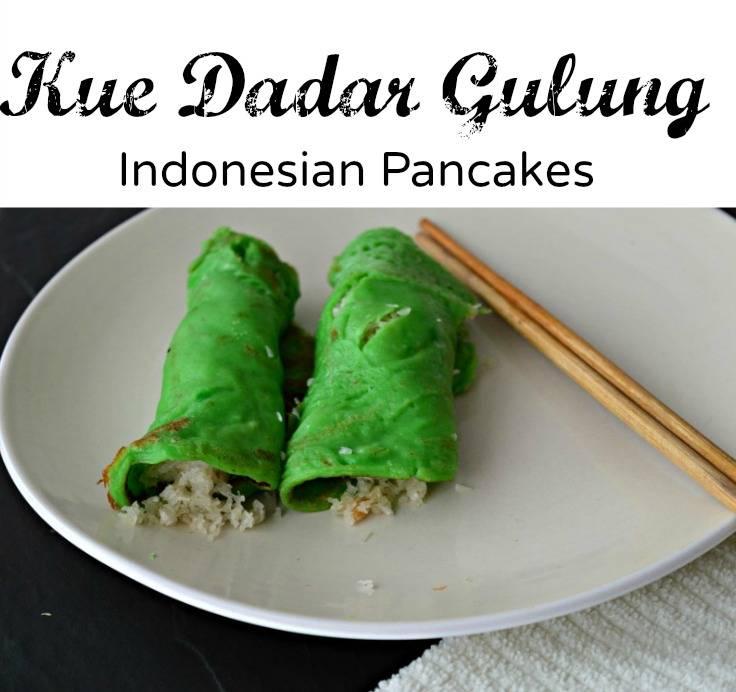 Indonesian Pancakes - Kue Dadar Gulung