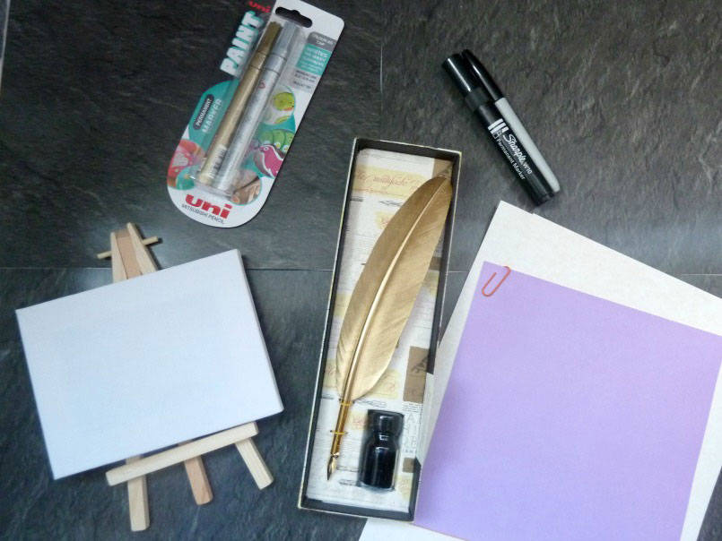Craft supplies from Viking