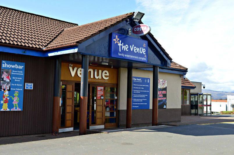 The Venue Parkdean Wemyss Bay