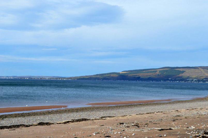 Wemyss Bay beach