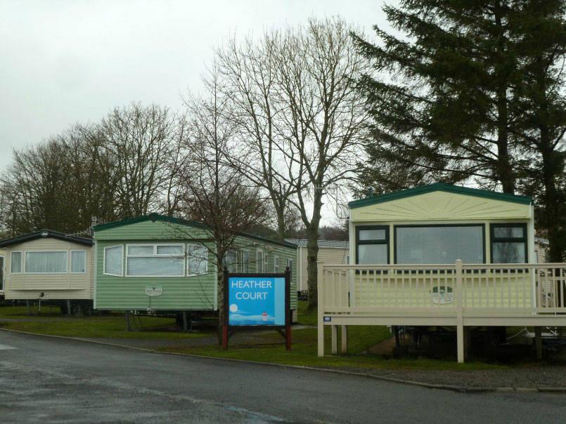 Carvans at Wemyss Bay